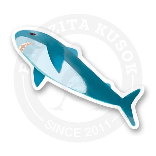 купить стикер стикер Ikea Shark животные