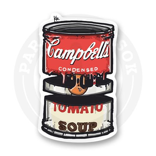 Стикер Campbell soup<br>