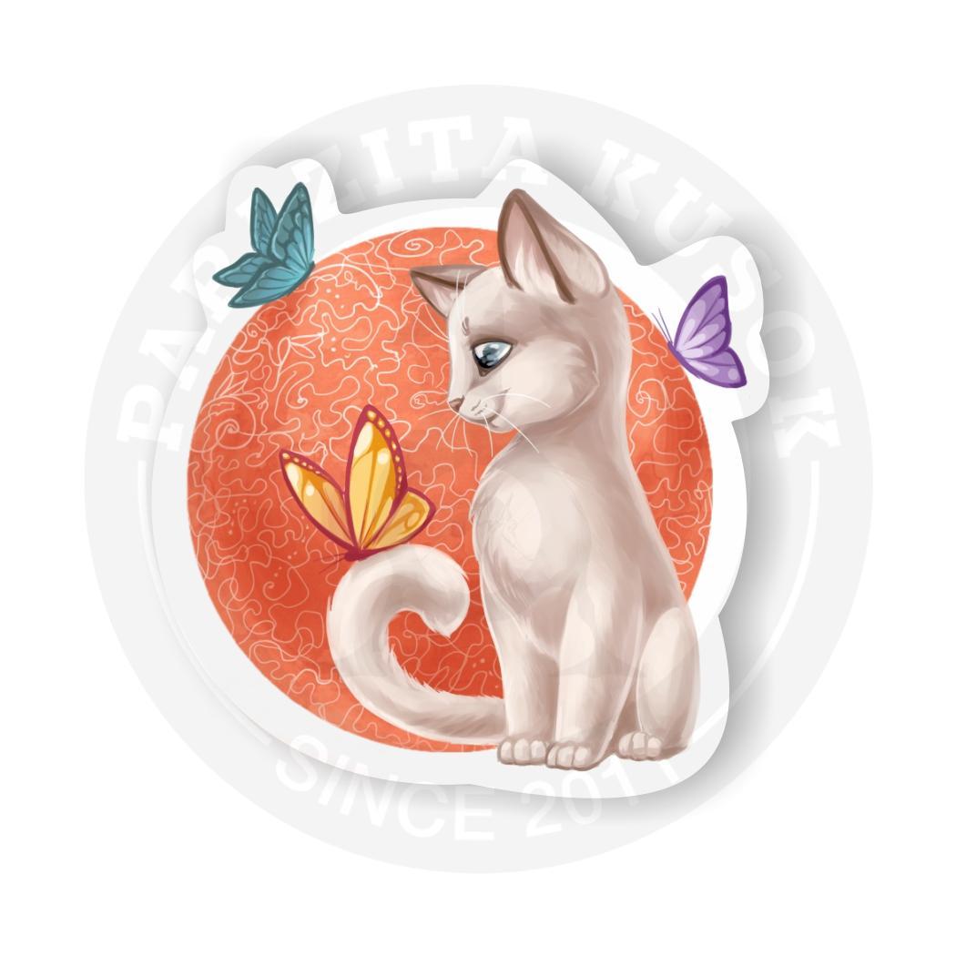 Котик/Sticker Cat<br>