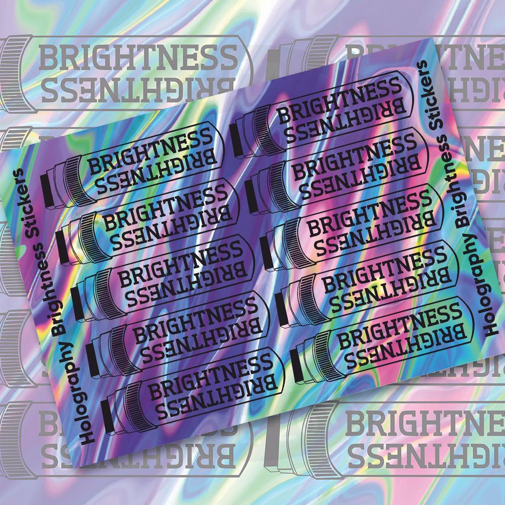 Наклейки Яркие Маркеры/Stickers Brightness<br>
