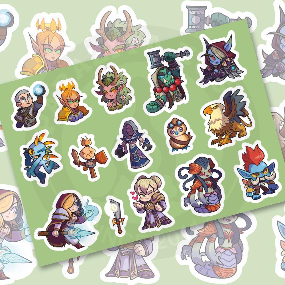 Стикерпейдж World of Warcraft<br>