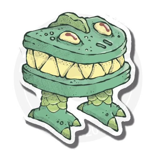 Наклейка Динозавр<br>