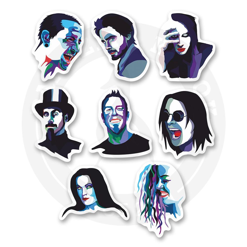 Набор стикеров Любимые музыканты<br>