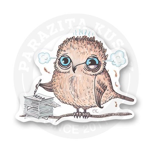 Стикер Пташка - работяжка<br>