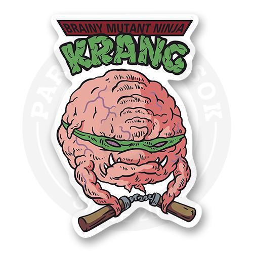 Стикер Brainy Mutant Ninja Krang / TMNT<br>