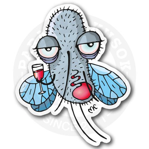 Комарик с бокалом<br>