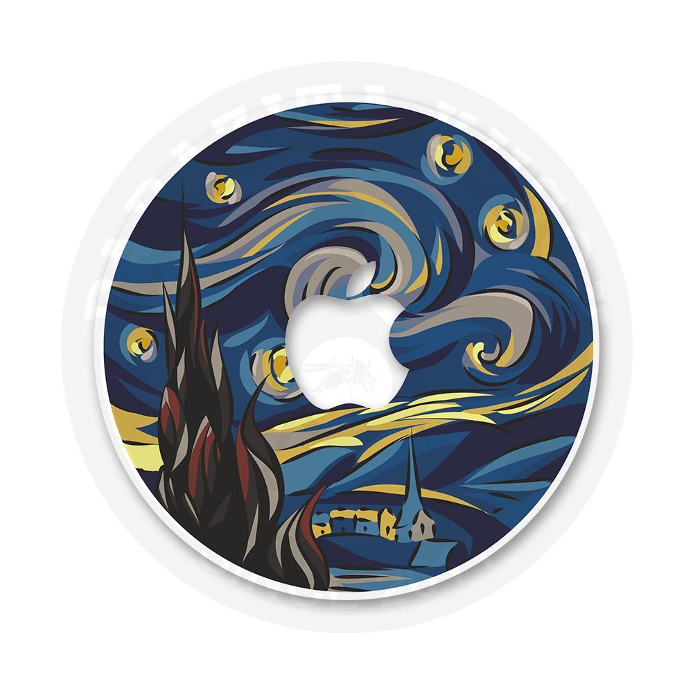 Наклейка на Macbook Ван Гог велик!<br>