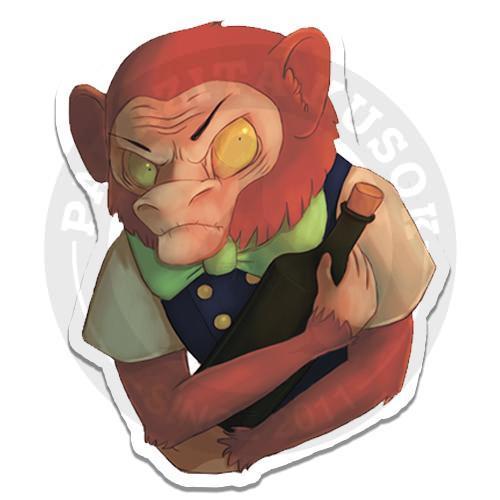 Злая обезьяна о,о<br>
