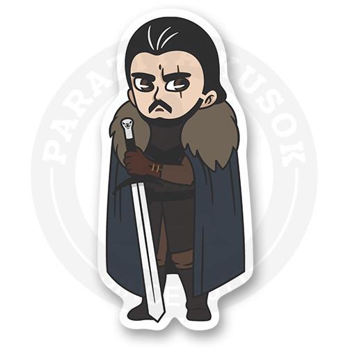 Стикер Джон Сноу / Игра Престолов / Game of Thrones<br>
