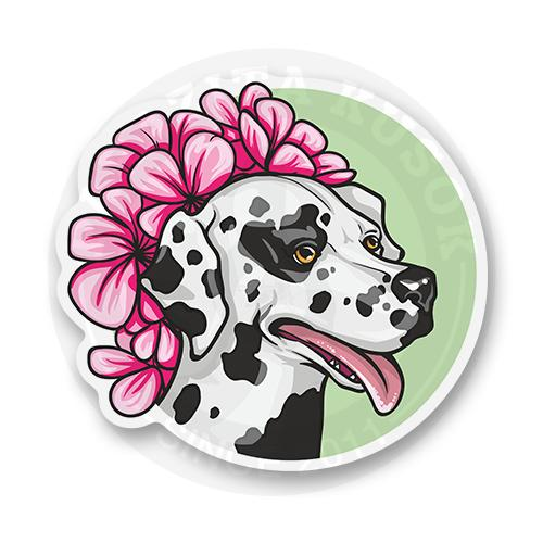 Стикер Портрет собаки<br>