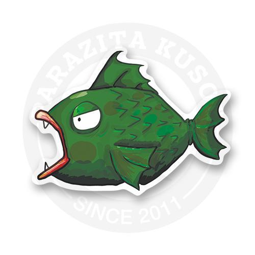 Стикер Вот она - рыба моей мечты!<br>