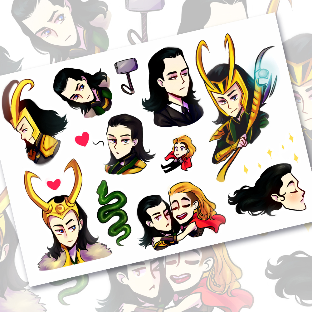 Локи и Тор<br>