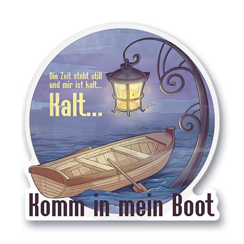 Komm in mein Boot<br>